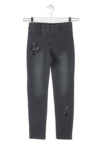 Jegging de color negro LOSAN